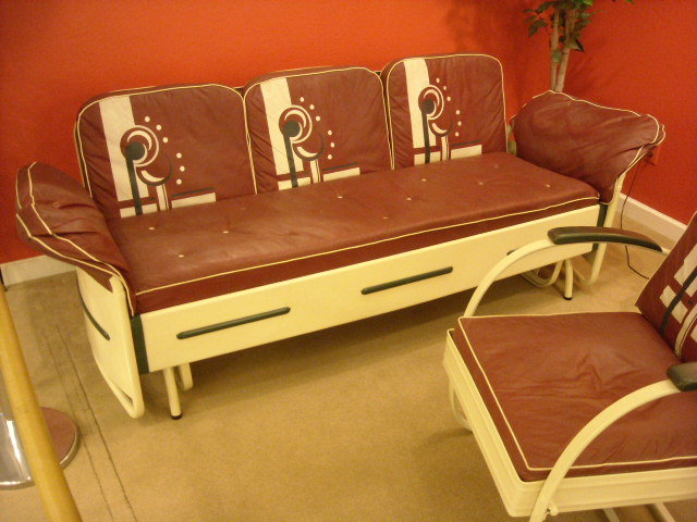 ART DECO GLIDER/CHAIR
