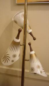 Floor cone lamp