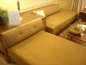 SOLD Twin Bed corner unit
