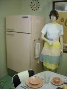 Working 1950's Pink Refrigerator/Freezer
